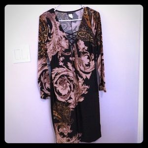 Brand new Venus dark paisley dress